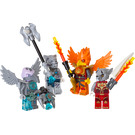 LEGO Fire and Ice Minifigure Accessory Set (850913)