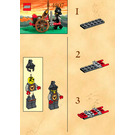 LEGO Fire Attack Set 4807 Instructions