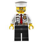 LEGO Fire Boat Captain Minifigure