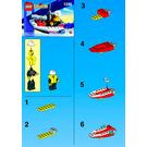 LEGO Fire Boat Set 1248-1 Instructions