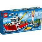 LEGO Fire Boat Set 60109 Packaging
