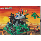 LEGO Fire Breathing Fortress Set 6082 Instructions
