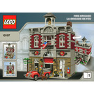 LEGO Fire Brigade Set 10197 Instructions