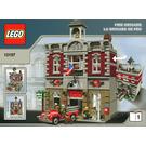 LEGO Fire Brigade Set 10197 Instructions