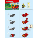 LEGO Fire Car Set 30338 Instructions
