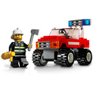 LEGO Fire Car Set 7241