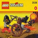 LEGO Fire-Cart Set 2538