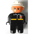 LEGO Fire Chief Duplo Figure