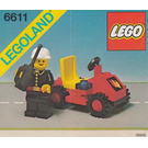 LEGO Fire Chief's Car Set 6611
