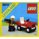 LEGO Fire Chief's Car Set 6612