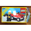 LEGO Fire Chief's Car Set 6612 Packaging