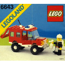 LEGO Fire Chief's Truck Set 6643