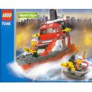 LEGO Fire Command Craft Set 7046