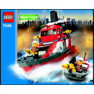 LEGO Fire Command Craft Set 7046 Instructions