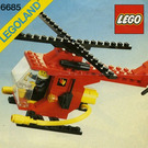 LEGO Fire Copter 1 Set 6685