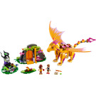 LEGO Fire Dragon's Lava Cave Set 41175