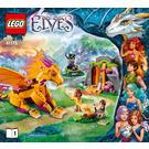 LEGO Fire Dragon's Lava Cave Set 41175 Instructions