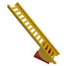 LEGO Fire Engine Ladder Complete Assembly