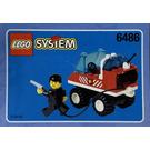 LEGO Fire Engine Set 6486 Instructions