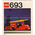 LEGO Fire Engine Set 693 Instructions