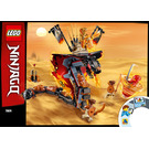 LEGO Fire Fang Set 70674 Instructions