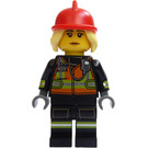 LEGO Fire Fighter Minifigure