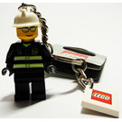 LEGO Fire Fighter World City Key Chain (851042)