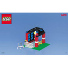 LEGO Fire Fighters' HQ Set 6478 Instructions
