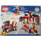 LEGO Fire Fighters' HQ Set 6478 Packaging