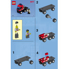 LEGO Fire Fighters' Lift Truck Set 6477 Instructions