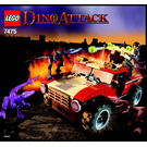 LEGO Fire Hammer vs. Mutant Lizards Set 7475 Instructions