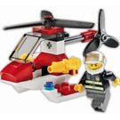 LEGO Fire Helicopter Set 4900