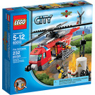 LEGO Fire Helicopter Set with Studs on Sides 60010-2 Packaging