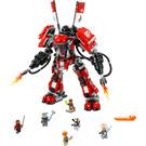 LEGO Fire Mech Set 70615