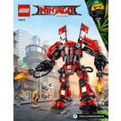 LEGO Fire Mech Set 70615 Instructions