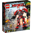 LEGO Fire Mech Set 70615 Packaging
