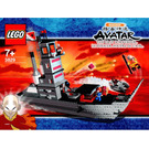 LEGO Fire Nation Ship Set 3829 Instructions
