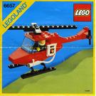LEGO Fire Patrol Copter Set 6657