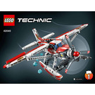 LEGO Fire Plane Set 42040 Instructions