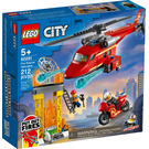 LEGO Fire Rescue Helicopter Set 60281 Packaging