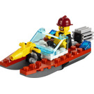 LEGO Fire Speedboat Set 30220