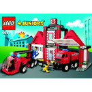 LEGO Fire Squad HQ Set 4657 Instructions