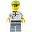 LEGO Fire Station Hot Dog Vendor Minifigure