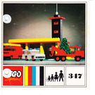 LEGO Fire Station Set 347-1 Instructions