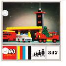 LEGO Fire Station Set 347-1 Instructions