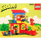 LEGO Fire Station Set 3669