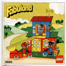 LEGO Fire Station Set 3669 Instructions