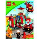 LEGO Fire Station Set 5601 Instructions