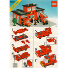 LEGO Fire Station Set 6382 Instructions