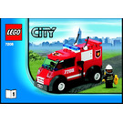 LEGO Fire Station Set 7208 Instructions